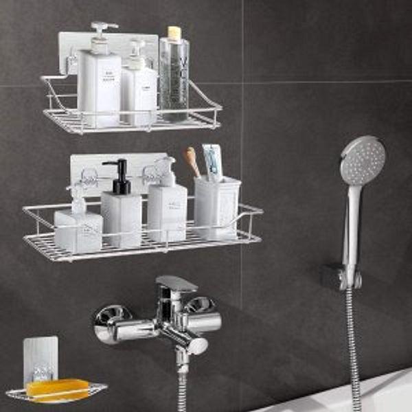 Pensar Shower Caddy Bascket with Soap Dish Holder Bathroom Storage Organizer