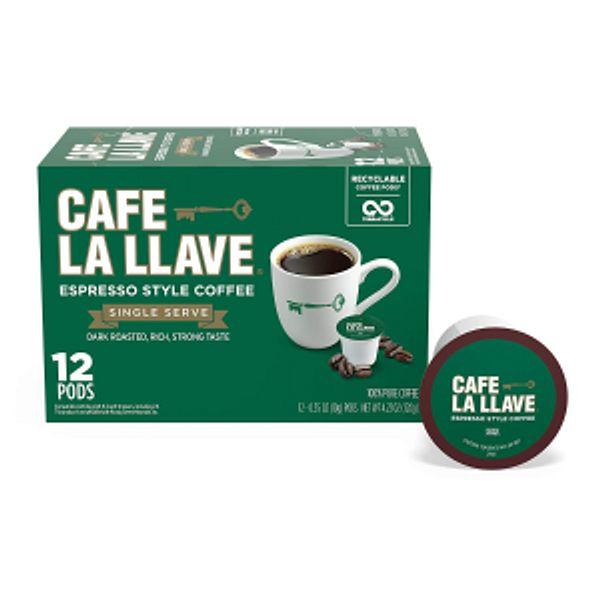 Cafe La Llave Espresso K-Cup (72 Count)