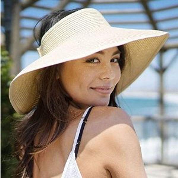 Simplicity Hats for Women UPF 50+ UV Sun Protective Convertible Beach Visor Hat