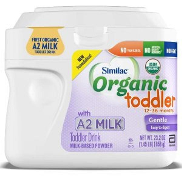 Similac Organic with A2 Milk Infant & Toddler Formula, Pack of 6 @Amazon