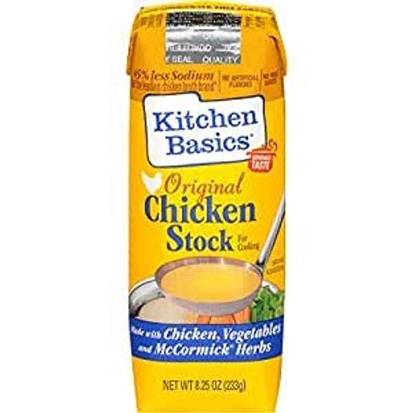 Kitchen Basics Original Chicken Stock, 8.25 fl oz (Pack of 12)