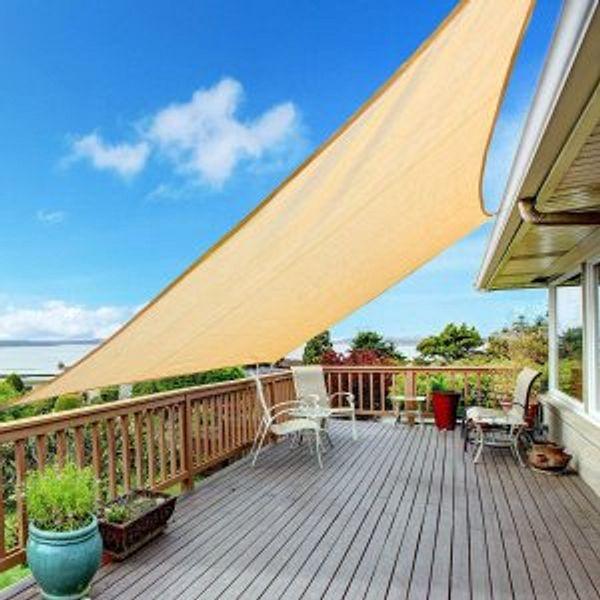 Kupton 6.56' x 10' Sun Shade Sail Rectangle Canopy Awning Sun Cover