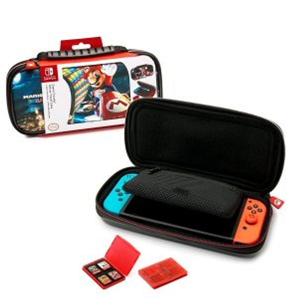 Officially Lceisned Nintendo Switch Mario Kart 8 Deluxe Carrying Case @Amazon