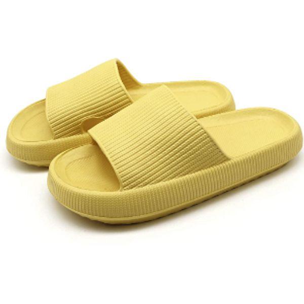 Pillow Slides Slippers - Cloud Cushion Slides Quick Drying Waterproof Bathroom Slippers Indoor & Outdoor Lightweight Slide Sandals Women and Men