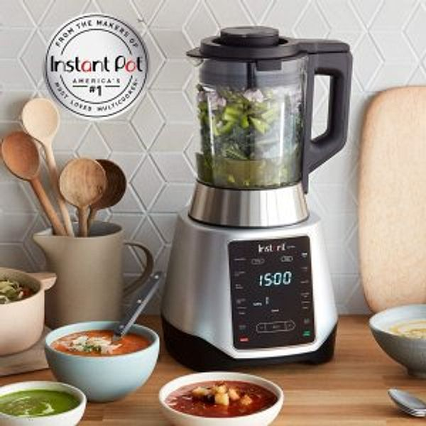 Instant Pot Ace Plus 10-in-1 Smoothie and Soup Blender, 10 One Touch Programs, 54 oz, 1300W