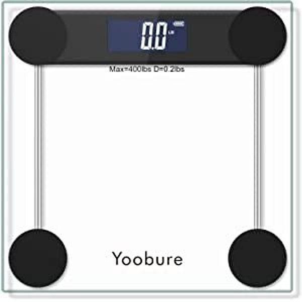 Yoobure Digital Bathroom Scale 400 Pounds