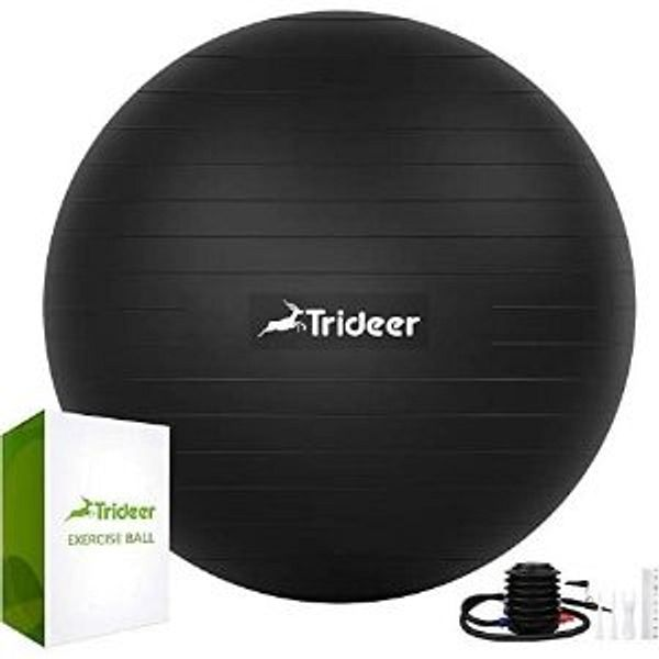 Trideer Extra Thick Yoga Ball Exercise Ball