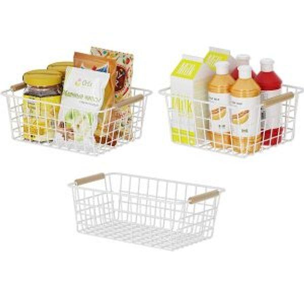 Apsan Kitchen Wire Storage Baskets