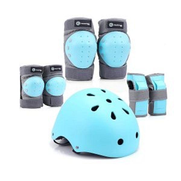 Purpol Kids Youth Bike Helmet Set