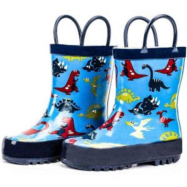 ADAMUMU Kids Rain Boots