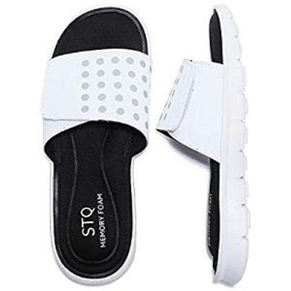 STQ Women Active Recovery Slide Sandals