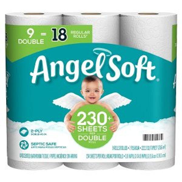 Angel Soft 2-Ply Bathroom Tissue