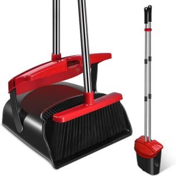 Mosuch Broom and Dustpan Set