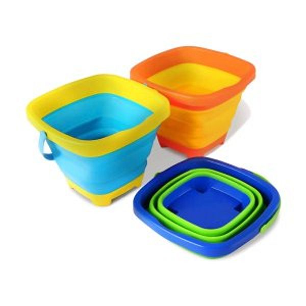 Kidtion Beach Toys Buckets