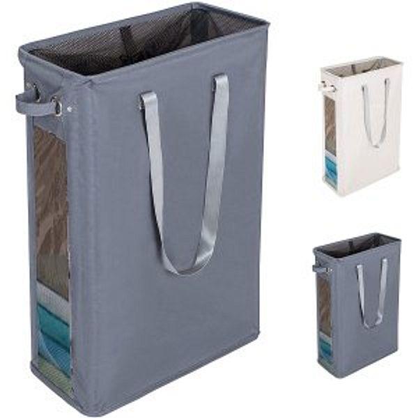 DOKEHOM 24-Inches Slim Laundry Basket