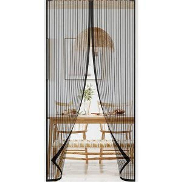 ZUPAQUN Magnetic Screen Door Mesh Curtain