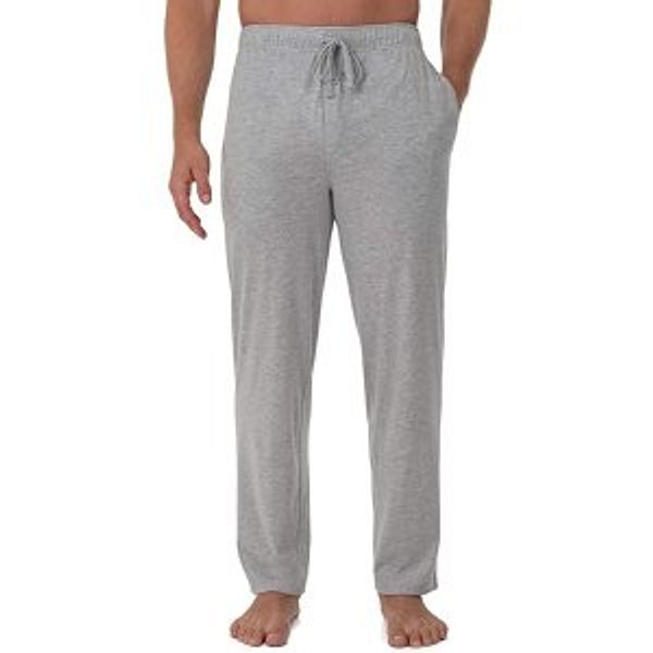 Fruit of the Loom Men's Extended Sizes Jersey Knit Sleep Pant