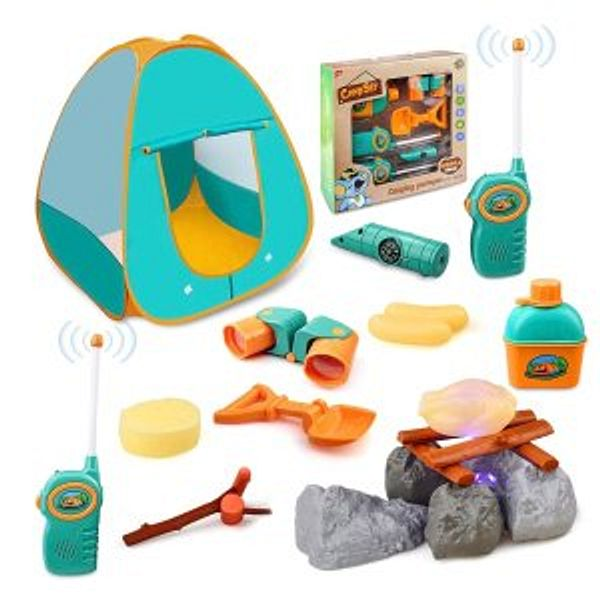 GrowthPic Kids Camping Play Tent