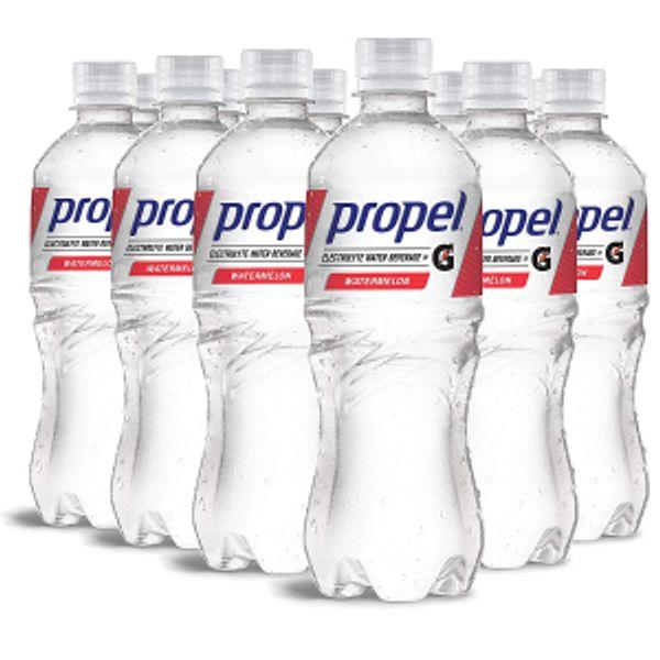 Propel, Watermelon, Zero Calorie Sports Drinking Water 16.9 Fl Oz (12 Count)