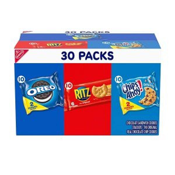 Nabisco OREO, RITZ & CHIPS AHOY!, 30 Snack Packs