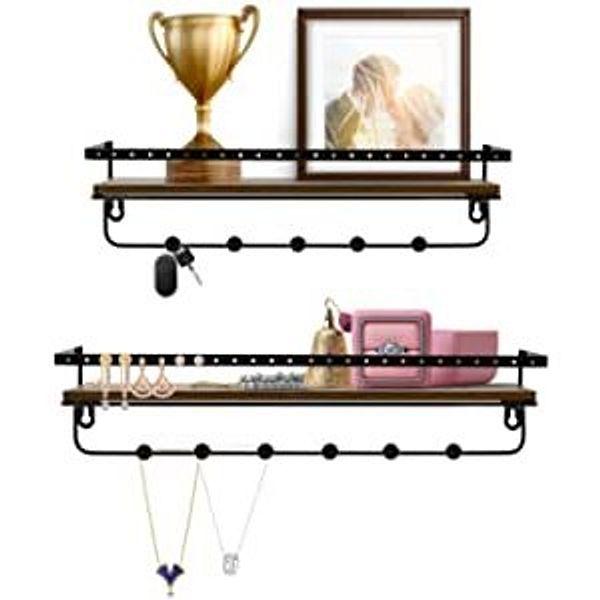 Petaflop Wall Shelves Set of 2