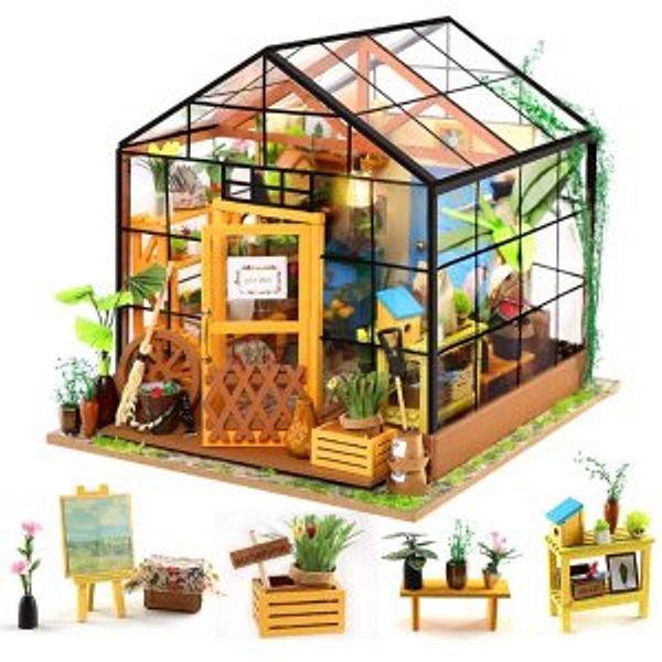 ZNCMRR DIY Miniature Dollhouse
