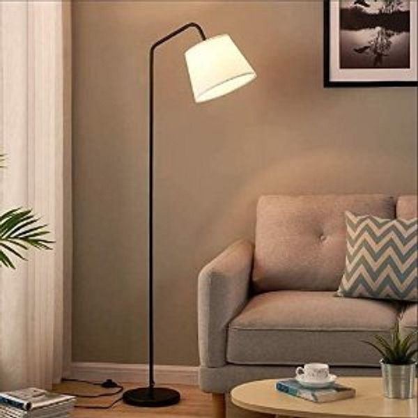 Hong-in LED Floor Lamp, Modern Standing Lamp with Arc Design