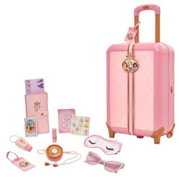 Disney Princess Travel Suitcase Play Set for Girls