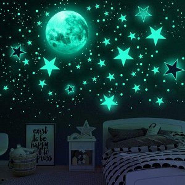 Airsnigi 1120PCS Glow in The Dark Stars for Ceiling