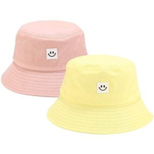 Jazzor Bucket Hat Summer Travel Bucket Cap Beach Sun Hat Smile Visor for Teens
