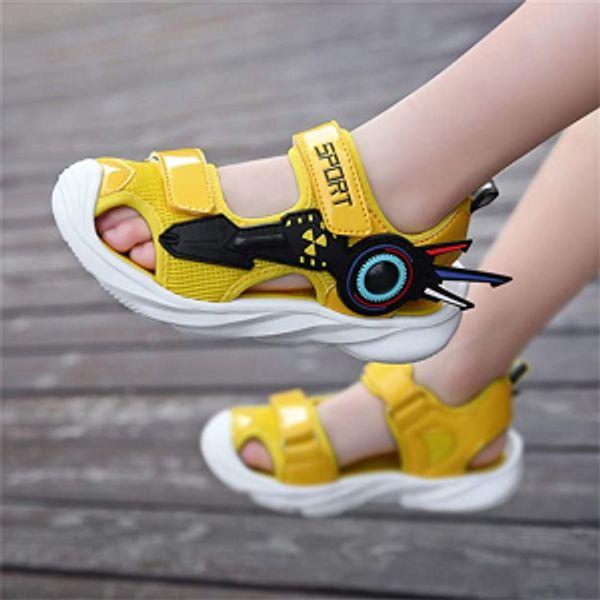 UBFENL Boys Girls Sandals Summer Closed-Toe Beach Sport Outdoor Non-Slip Kids Water Shoes