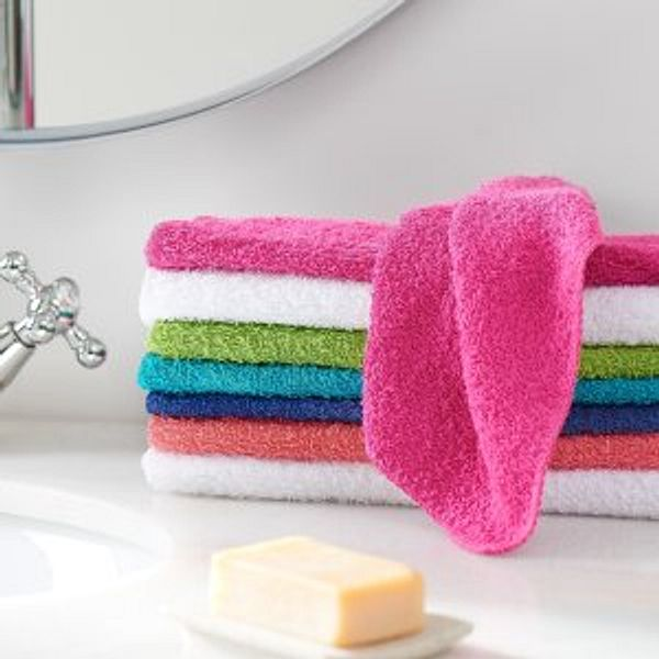 Mainstays Cotton Washcloth Bundle Collection 24 Pack