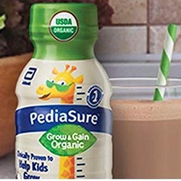Amazon PediaSure Organic Kid's Nutrition Shake 8 fl oz, 24 Count