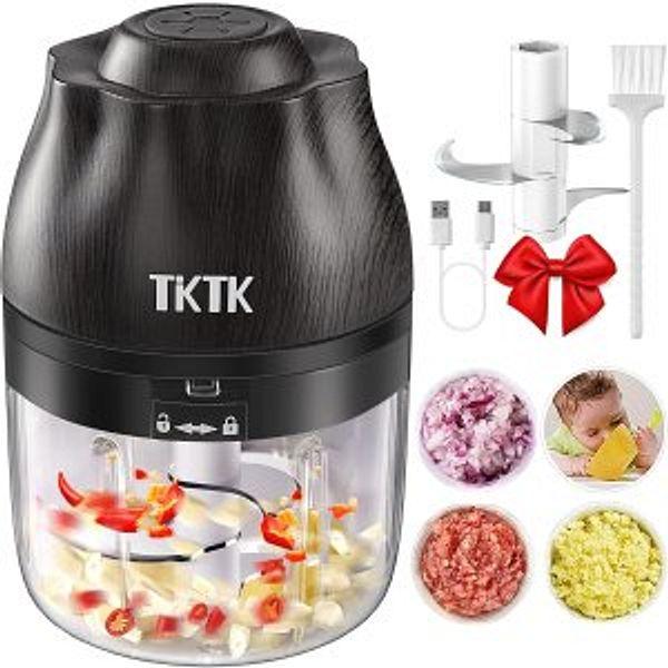 TKTK Mini Chopper Food Processor with 2 Blades