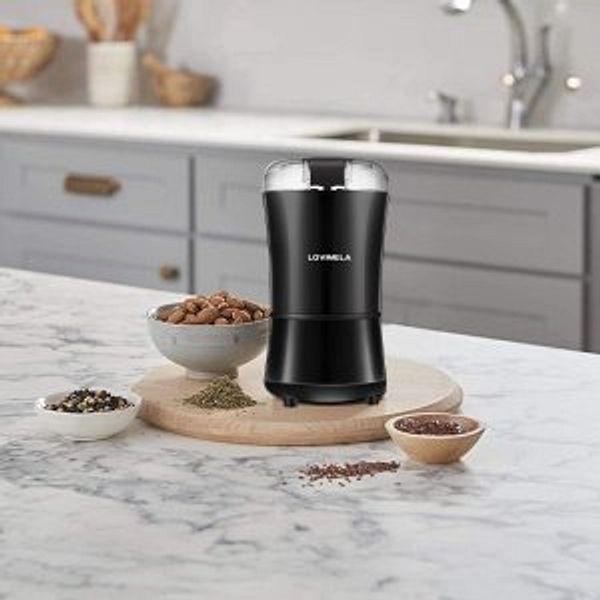LOVIMELA Electric Coffee Grinder