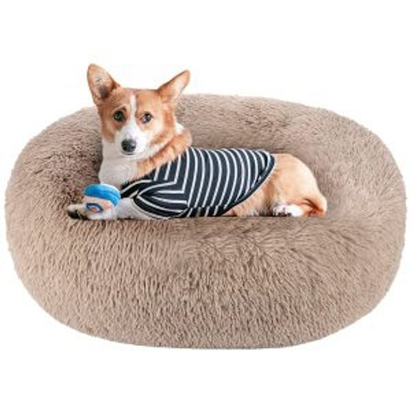 Akarden Dog Bed Cat Bed Donut