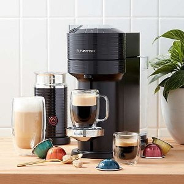 Nespresso Vertuo Next Premium Coffee & Espresso Maker with Aeroccino Milk Frother