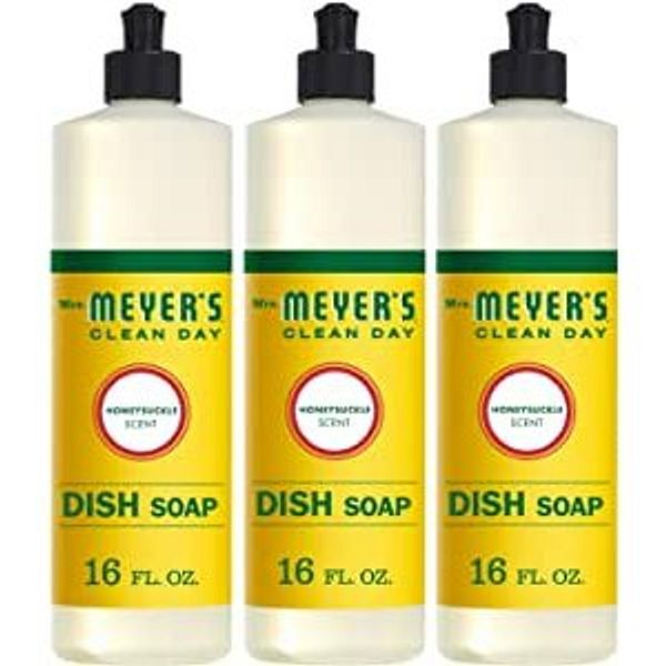 Mrs. Meyer's Clean Day Dishwashing Liquid Dish Soap