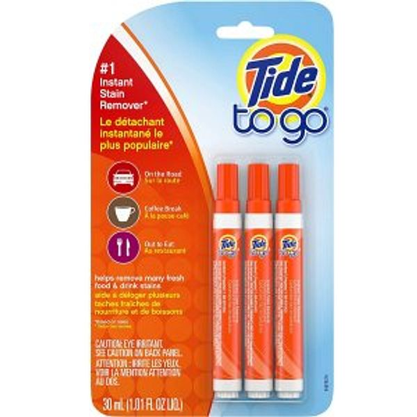 Tide To Go Instant Stain Remover, 3 Count