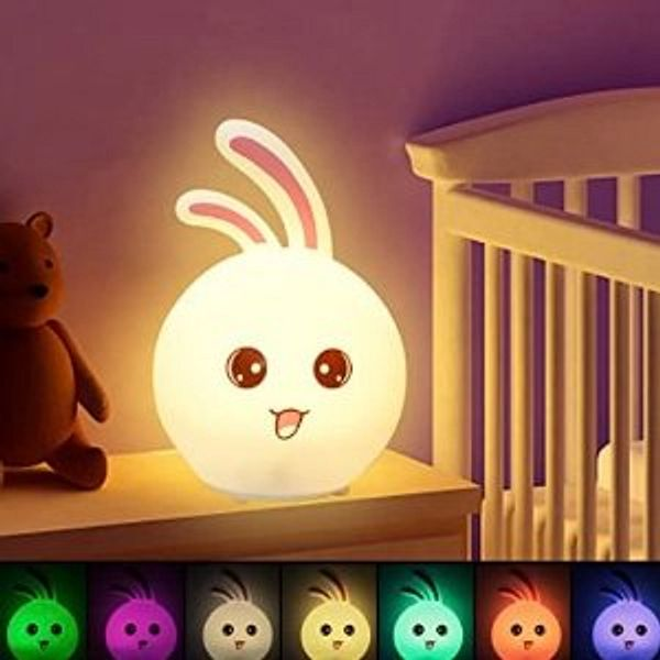 CNSUNWAY Cute Bunny Night Light & More