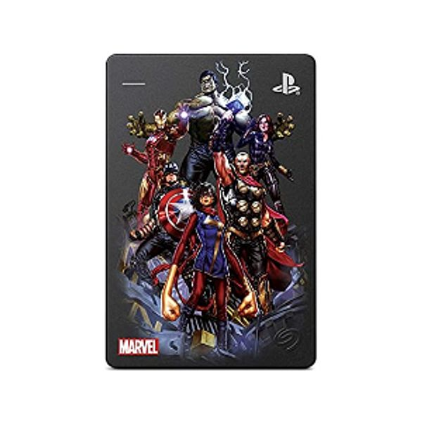 Seagate Game Drive for PS4 Marvel's Avengers LE