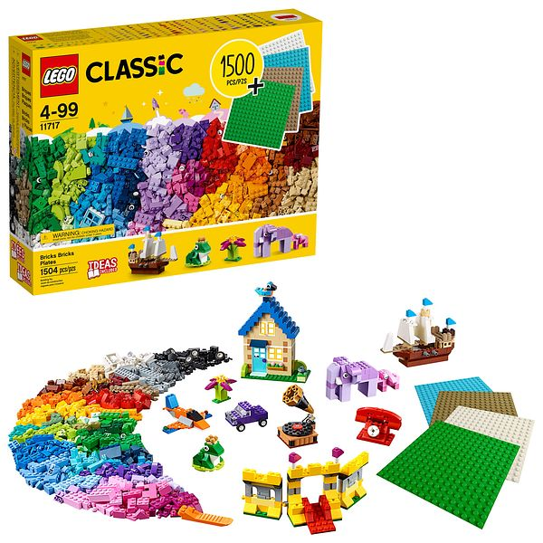 Lego Classic Bricks 1500 Pieces @Walmart