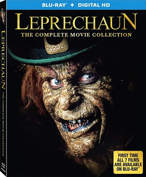 Leprechaun The Complete Movie Collection (7 movies) [Blu-ray + Digital HD]  - $14.96