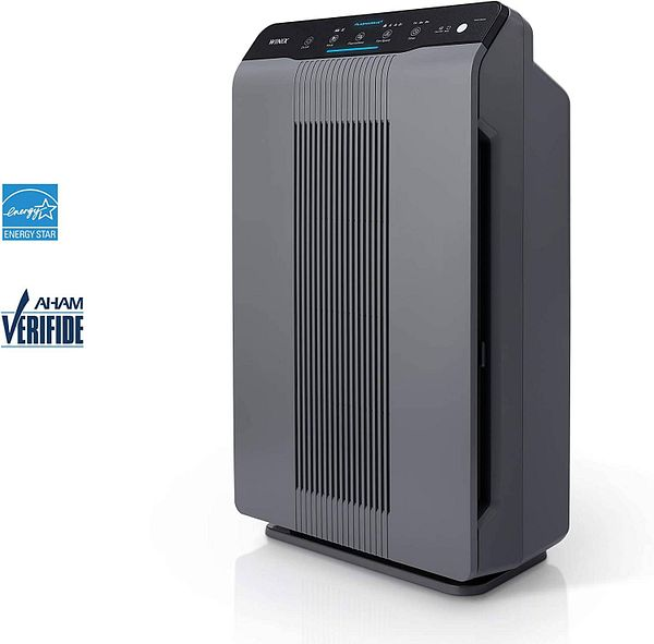 Winix 5300-2 Air Purifier with True HEPA, PlasmaWave and Odor Reducing Carbon Filter,Gray $123.8