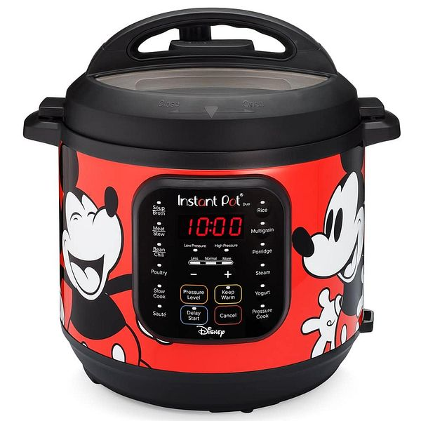 6-Qt Instant Pot Duo 7-in-1 Disney Mickey Mouse Electric Pressure Cooker (red, white) $59 + Free Shipping w/ Walmart+ or on $35+
