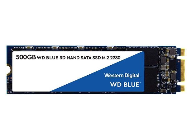 WD Blue 3D NAND 500GB Internal SSD - SATA III 6Gb/s M.2 2280 Solid State Drive for $52.99 AC