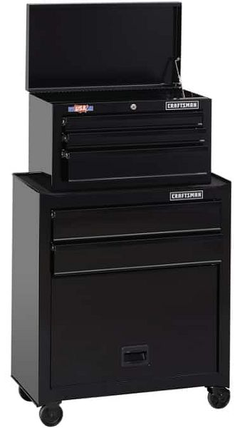 """Craftsman 1000 Series 26.5"""" 5-Drawer Ball-Bearing Tool Chest/Rolling Cabinet $100 at Ace Hardware +  2.5% Slickdeals Cashback (PC Req'd) + Free Curbside Pickup"""