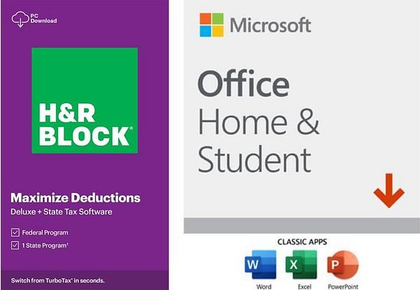 H&R Block Tax Software Deluxe/State @Newegg.com