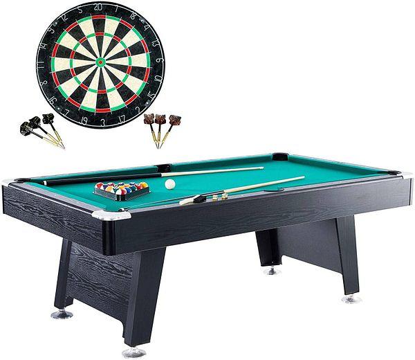 "Barrington 84"" Billiard Table w/ Dart Board $468.99 at Walmart"