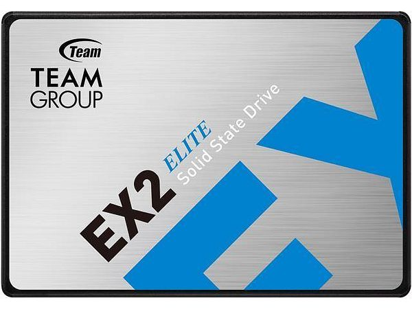 """Team Group EX2 2.5"""" 512GB SATA III 3D NAND Internal Solid State Drive (SSD) T253E2512G0C101"""